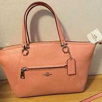 Coach Prairie Satchel in Pebble Leather Photo
