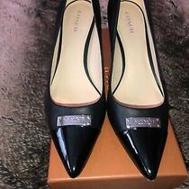 Coach Pumps Black Leather Mid-Heel - Only Worn Once Photo