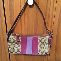 Coach Purple Handbag Photo