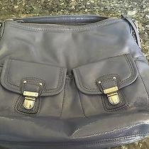 Coach Purple Plum Leather Satchel Shoulder Bag F23401 Photo