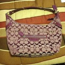 Coach Purple Purse Photo