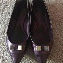 Coach Purple Size 8 Flats Photo