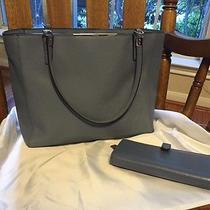 Coach Purse and Matching Wallet (Light Blue) Photo