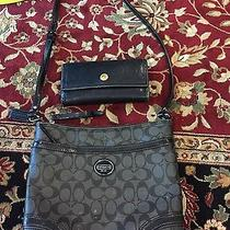 Coach Purse and Wallet Photo