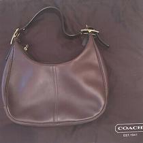 Coach Purse/bag Black Leather Photo