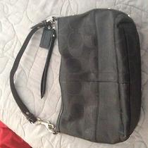 Coach Purse--Black Photo