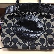 Coach Purse Black Large Photo