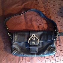 Coach Purse Black Learher  Photo