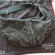 Coach Purse Black Used No. F06u-10074 Photo