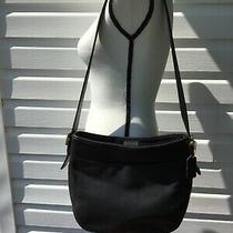 Coach Purse  Black With Shoulder Strap  Great Condition Photo