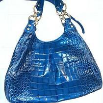 Coach Purse - Blue Alligator Leather Photo