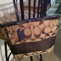 Coach Purse Brown  Photo