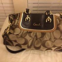 Coach Purse Brown Used Photo