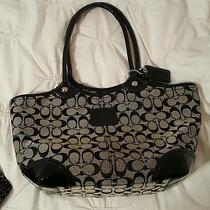 Coach Purse Large Black Photo
