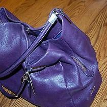Coach Purse - Leather - Purple Photo