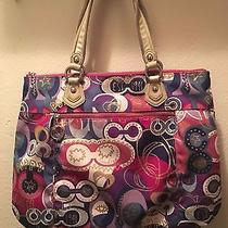 Coach Purse Rarely Used Still Has Its Cover Photo