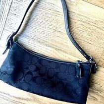 Coach Purse Small Shoulder Strap Black Photo