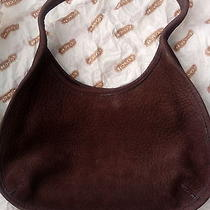 Coach Purse Vintage Solid Brown Us Patent 4453294 and Other Photo
