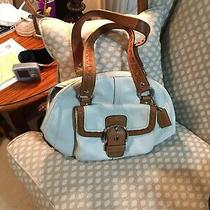 Coach Purse White  Used Buy It Now Photo