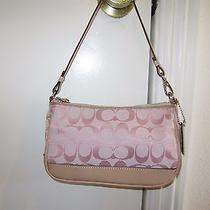 Coach Rare Pink Small Handbag Photo