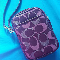 Coach Red Cell Phone Wristlet Photo