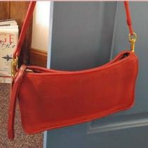 Coach Red Leather Vintage Crossbody Photo
