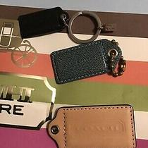 Coach Replacement Hangtags 3 Hangtag and 1 Key Ring Photo