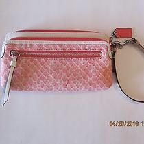 Coach Resort Print Double Zip Wallet F50741 Photo