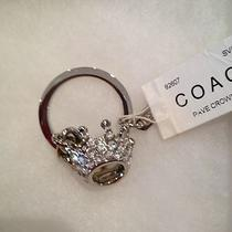 Coach Rhinestone Crown Key Ring Photo