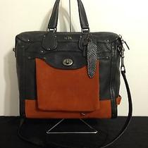 Coach Rhyder 33 Colorblock Satchel in Leather 33919 Photo