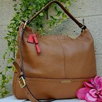 Coach Saddle Brown Park Hobo Leather Shoulder 23293 Purse Crossbdy Purse Tote Photo
