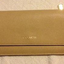 Coach Saffiano Leather Wallet  Photo
