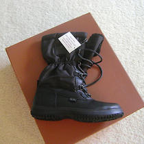 Coach Sage Black/black Color Nylon Cold Weather Snow Boot Size 7.5m Nib Photo