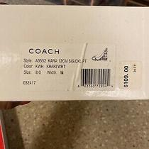 Coach Sandals Size 8 New Photo