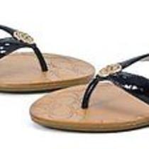 Coach Sara Sandal - Black Patent Leather Size 5m Brand New in Original Box Photo