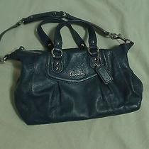 Coach Satchel Leather Shoulder Bag F19247 (Pre-Owned) Photo