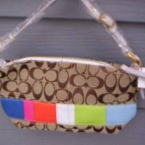Coach Satchel Purse Handbag 388.00 Price Tag Cloth Nwt Photo