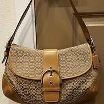 Coach - Satchel/ Shoulder Bag /brown Camel /genuine Very Gently Used  Photo