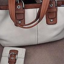 Coach-Satchel Shoulder Bag-Leather-Authentic Photo
