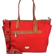 Coach Sawyer Multi Function Baby Diaper Bag Crossbody Tote Nwt 395 Red F37758 Photo