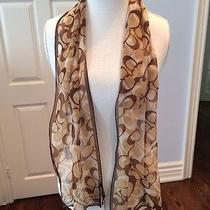 Coach Scarf New With Tags Photo