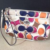Coach Scarf Print Wristlet Photo