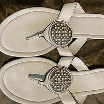 Coach Sena Thong Sandals - Size 10 (White) Photo