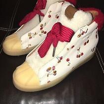 Coach Sheep Fur Duck Boots Womens Size 8.5 Photo