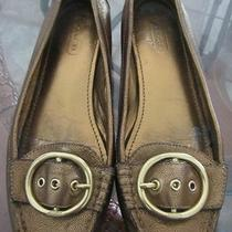 Coach Shoes Flats Size 7 1/2 M Karly Photo