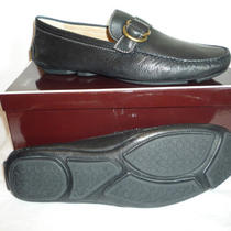 Coach Shoes for Men Casual Comfortable Leather Loafers in Black Size  11 Photo