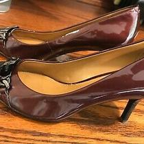 Coach Shoes Heels 7 Patent Gorgeous Sample Sale Coach Excellent Leather Chain  Photo