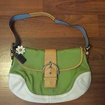 Coach Shoulder Bag Handbag Pretty Unique Purse  Photo