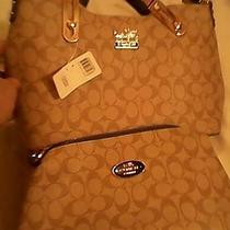 Coach Shoulder Bag With Smaller Handbagnew With Tags Photo