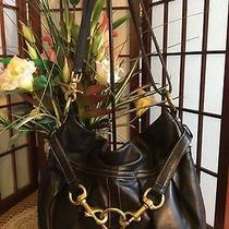 Coach Shoulder Cross-Body Hampton Leather Bag 10205 Photo